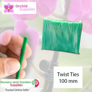 Wire Twistie Tie Orchid Label - Orchid Growing Supplies - For more information go to Orchidsupplies.com.au