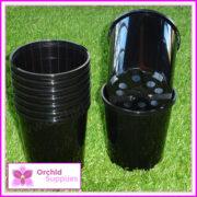125mm-SLK-Orchid-Pot-Black-2
