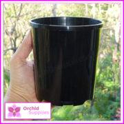125mm-SLK-Orchid-Pot-Black-3