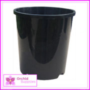 140mm-Slimline-orchid-pot-Black-3