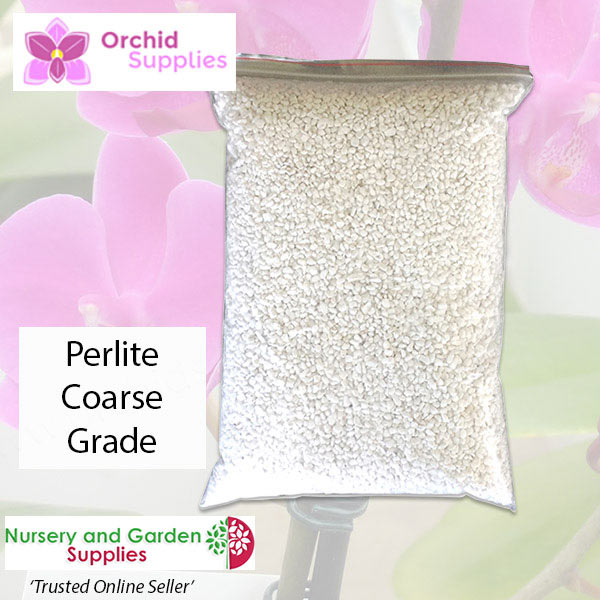 Orchid perlite Coarse - Orchid Growing Supplies - For more information go to Orchidsupplies.com.au