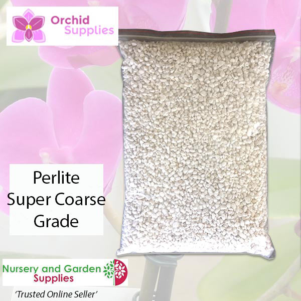 Orchid perlite Super Coarse - Orchid Growing Supplies - For more information go to Orchidsupplies.com.au