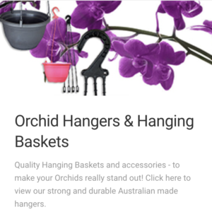 Orchid Hangers and Hanging Baskets