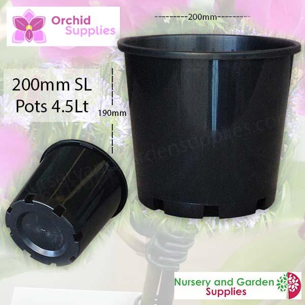200mm Standard Pot