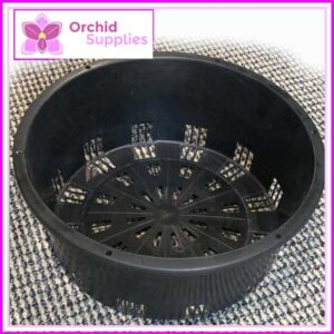300mm Orchid Squat Heavy Duty Pot
