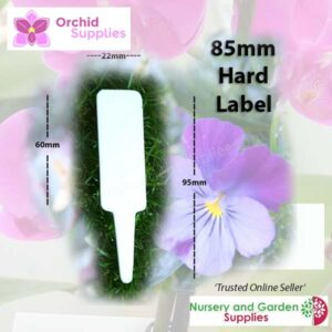 85mm White Labels